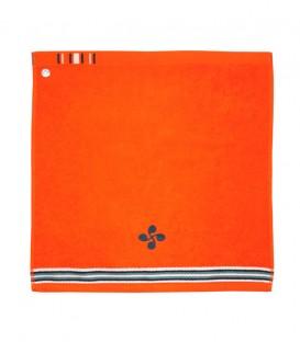 Tea towel square ARRATSA lauburu