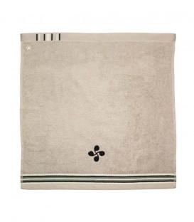 Tea towel square EKAITZ lauburu