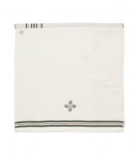 Tea towel square LATXA lauburu