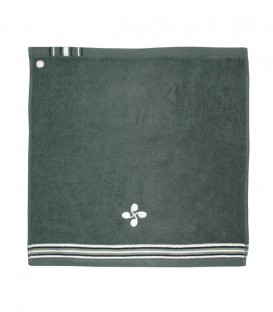 Tea towel square NEGUA lauburu