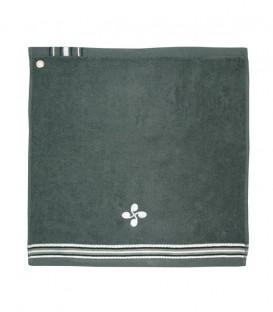 Tea towel square NEGUA lauburu
