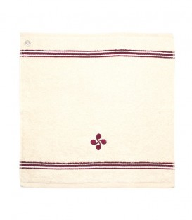 Tea towel square SOKOA lauburu
