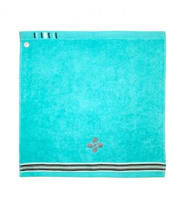 Tea towel square URTZI lauburu