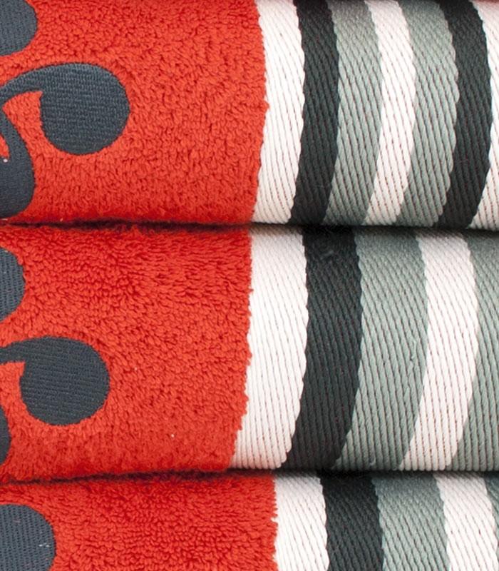 serviettes de toilette osasuna lauburu euskal linge basque. Black Bedroom Furniture Sets. Home Design Ideas