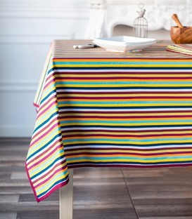 Coated tablecloth