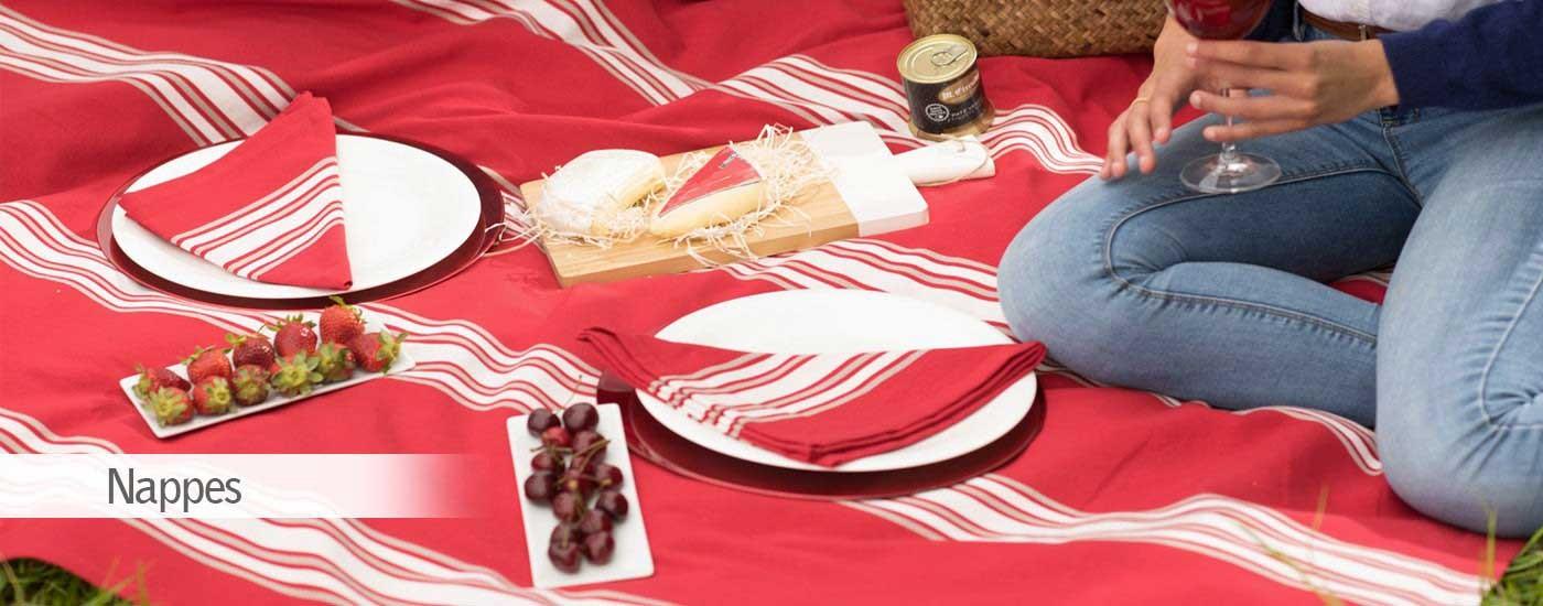 Euskal Linge Basque nappes tradittionnel
