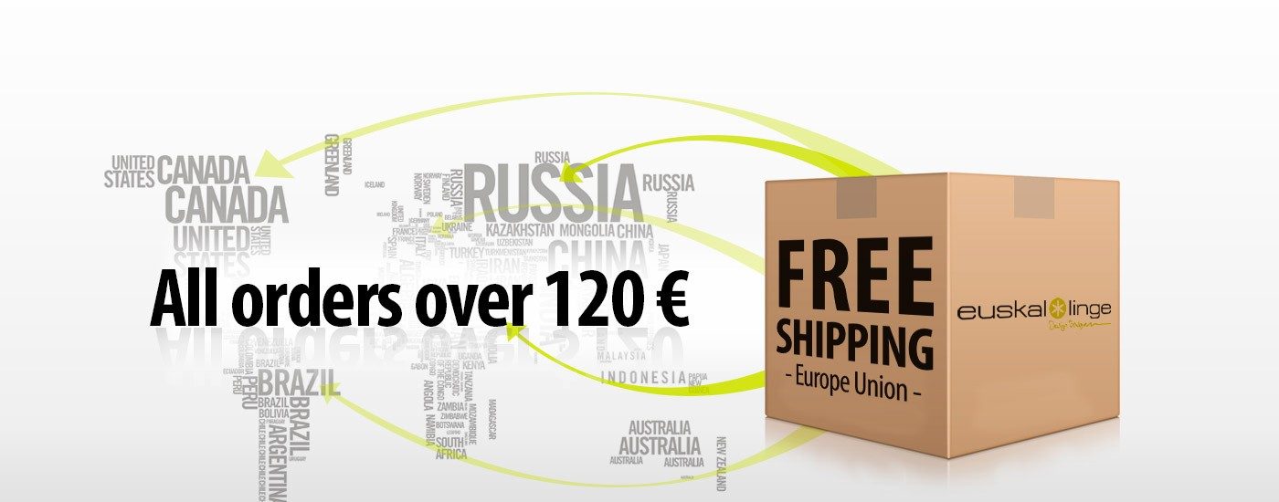 Euskal Linge - Linge Basque - Free Shipping on purchases over 120 €