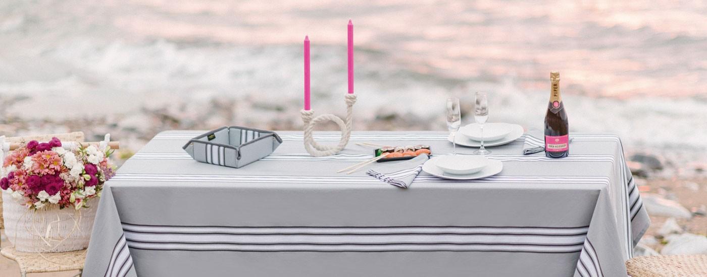 Euskal Linge - Linge Basque - Tablecloths Laino