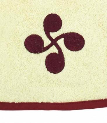 Tea towel JOALDUN lauburu