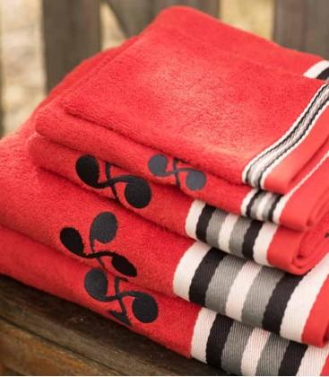 OSASUNA lauburu towel