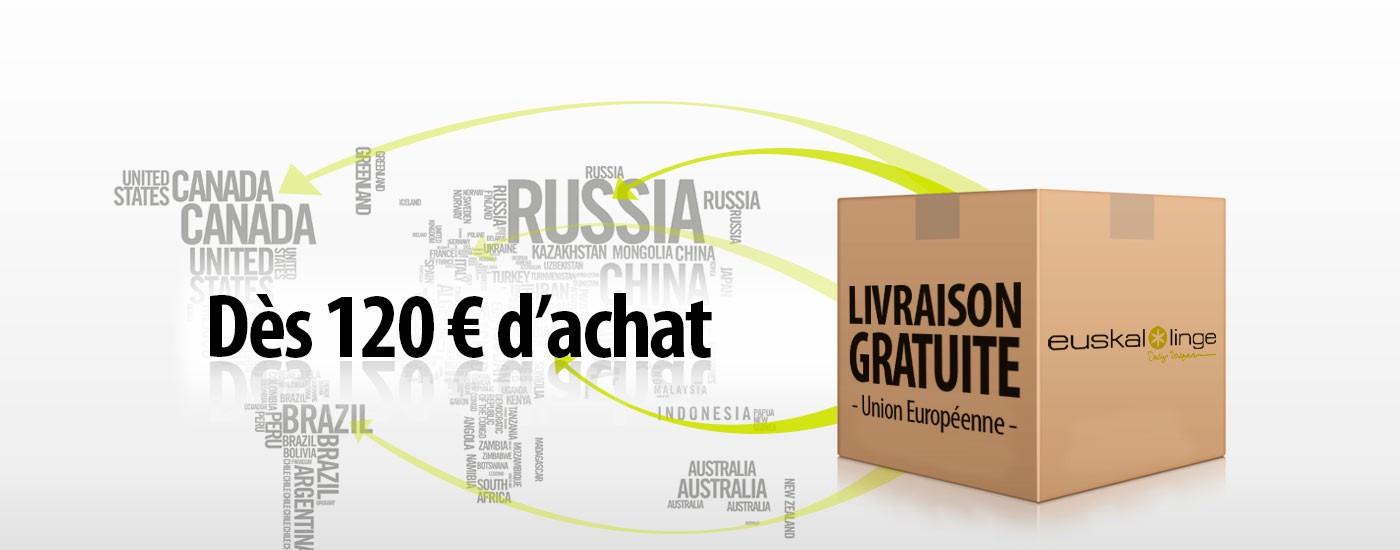 Euskal Linge - Linge Basque - Livraisons gratuits dès 120 € d'achat