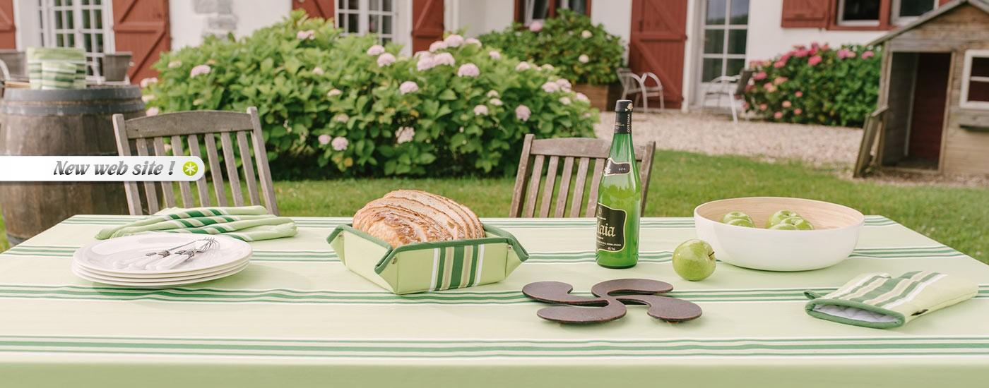Euskal Linge - Linge Basque - Tablecloths Sagarra